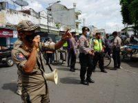 Tim Satgas Blitar Kota Perketat Operasi Yustisi di Pasar Tradisional