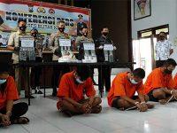 Polisi Bongkar Penyelundupan Sabu ke Dalam Sel Tahan Mapolresta Blitar