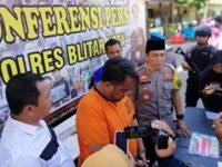 Bobol Rumah Polisi di Blitar, Residivis asal Ngunut Tulungagung ini Gasak Jutaan Rupiah