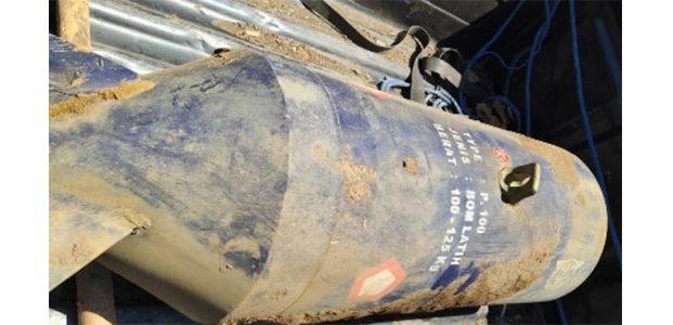 Bom Latih Pesawat Sukhoi Jatuh di Kebun Tebu di Lumajang