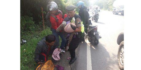 Boncengan dengan Istri dan Bayinya, Pria asal Pucuk Lamongan Jadi Korban Tabrak Lari di Tuban
