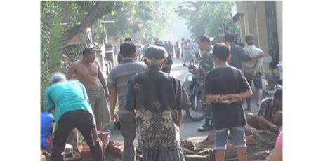Buntut Tawuran di Hari Pertama Ramadhan, 9 Warga Pengalangan Jombang Ditahan Polisi