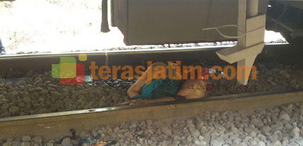 Wanita Bunuh Diri dengan Kereta Api