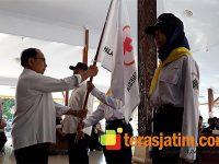 Bupati Blitar Berangkatkan Kontingen ke Jumbara PMR PMI Provinsi Jatim