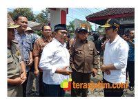 Bupati Blitar Dampingi Wagub Jatim Tinjau Pelaksanaan Pemilu 2019