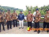 Bupati Blitar Tinjau Lokasi Pembangunan JLS