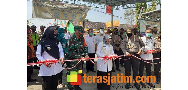 Bupati Jombang Resmikan Kampung Tangguh di Ngogri Kecamatan Megaluh