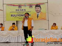 Reses, Wakil Ketua DPRD Banyuwangi Ruliyono, Siap Perjuangkan Aspirasi Warga