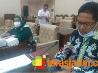 Harmonisasi 2 Raperda Inisiatif DPRD Banyuwangi Dilakukan Bersama Kemenkum HAM Jatim
