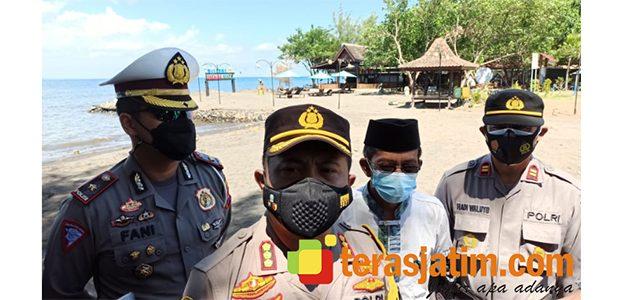 Antisipasi Pemudik, Polresta Banyuwangi Jaga Ketat Jalur Tikus Via Pelabuhan Rakyat
