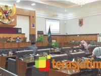 DPRD Banyuwangi Gerlar Paripurna Terkait Laporan Komisi Hasil Pembahasan KUPA PPAS 2021