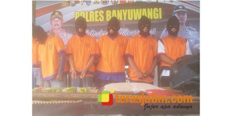 5 Pelaku Kasus Pencabulan di Wilayah Hukum Banyuwangi, Diamankan Polisi