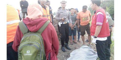 Cangkruk di Dekat Rel, Tukang Tambal Ban di Mojokerto Tewas Terserempet KA