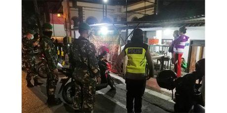 Cegah Penyebaran Corona, Aparat Keamanan di Kota Blitar Gelar Patroli Skala Besar