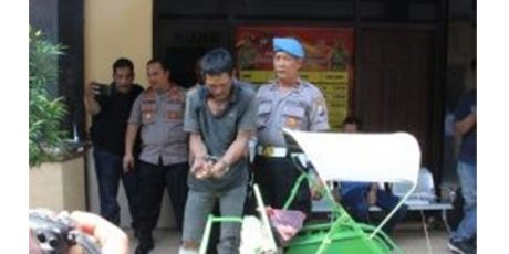 Cinta Segi Tiga, Seorang Tukang Becak di Jombang Nekat Bunuh Saingannya