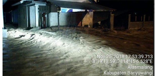 Curah Hujan Tinggi, Alas Malang Banyuwangi Dihantam Banjir Bandang