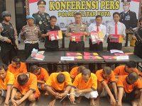 Dalam 2 Pekan, Aparat Polres Blitar Kota Bekuk 11 Tersangka Kasus Narkoba