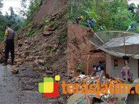 Dalam Sehari, Bencana Tanah Longsor Terjang Sejumlah Lokasi di Pacitan