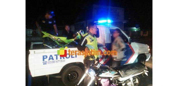 Dalam Semalam, 55 Motor Protolan dan Knalpot Brong di Situbondo Dikandangkan Polisi