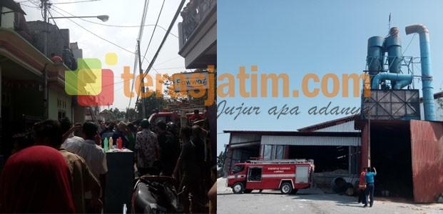 Dalam Sehari Kebakaran Terjadi di Dua Tempat Yang Berbeda