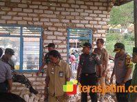 Dandim dan Kapolres Sumenep Tinjau Dusun Yang Jadi Korban Terjangan Angin Puting Beliung