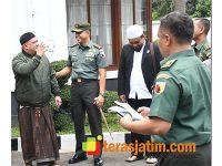 Danrem Baladhika Jaya Terima Kunjungan Pimpinan Majelis Watta'lim Riyadlul Jannah
