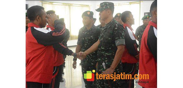 Danrem Bhaskara Jaya Lepas Atlet Piala Panglima TNI