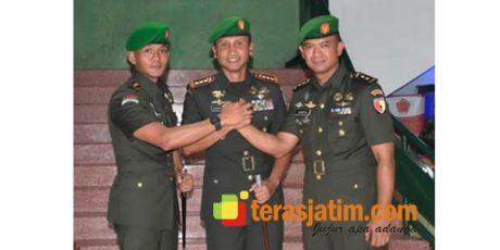 Danrem Bhaskara Jaya Pimpin Sertijab Dandim Surabaya Utara