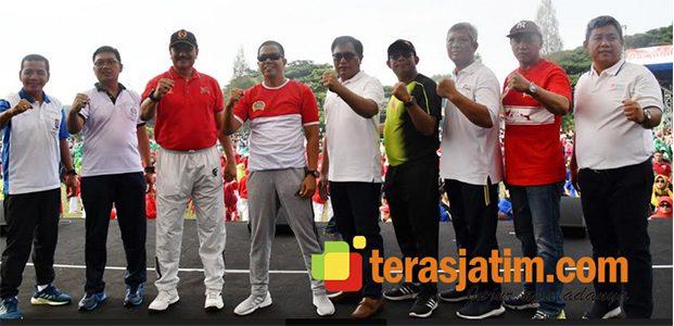 Dari Malang Untuk Indonesia dengan Senam dan Tari Sajojo
