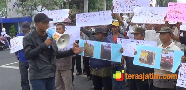 Demo Petani Di Kantor Kejaksaan