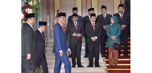 Di Depan Sidang Tahunan MPR, Presiden Jokowi Tekankan Persatuan