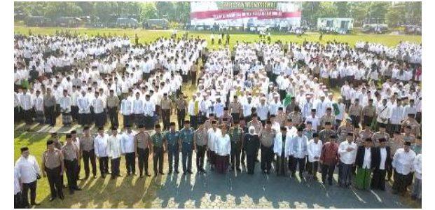 Di Jatim, Puncak Hari Santri Nasional 2019 Digelar di Lapangan Mapolda Jatim