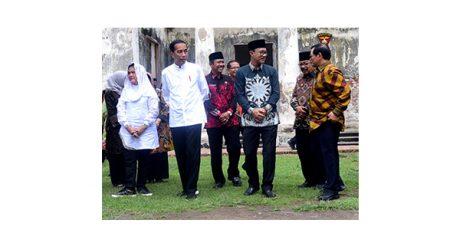 Di Ngawi, Presiden Jokowi Kunjungi Benteng Pendem