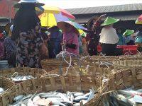 Di Pasar Ikan Lamongan, Harga Bandeng Anjlok Hingga Rp2 ribu Perkilonya