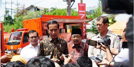 Di Surabaya, Presiden Buka Rakornas Penanggulangan Bencana