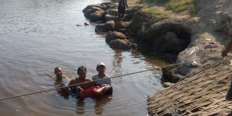 Diduga Frustasi, Wanita Asal Ngraho Bojonegoro 'Nyemplung' Sungai