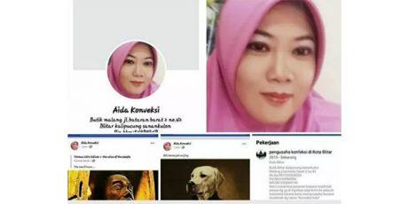 Hina Presiden di Medsos, Wanita asal Sanankulon Blitar Ditangkap
