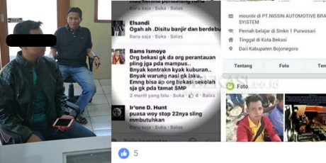 Diduga Hina Warga Bekasi di Media Sosial, Pemuda asal Gayam Bojonegoro Diciduk