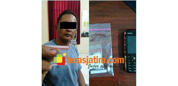 Diduga Jadi Pengedar Sabu, Pria asal Trigonco Situbondo Ditangkap Polisi