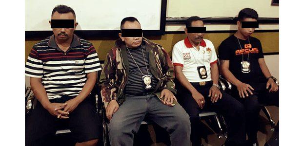 Diduga Peras Pengusaha Sapi, 4 Anggota 'KPK' Ditangkap Polisi