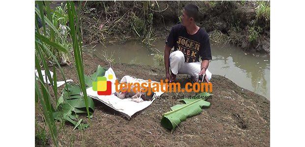 Diduga Sengaja Dibuang, Mayat Bayi Terlilit Tali Pusar Ditemukan di Sungai Brantas