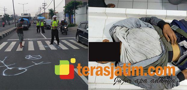 Disenggol Mobil Boks di Jalan Raya, Pria Nahas ini Tewas Terlindas Truk Trailer