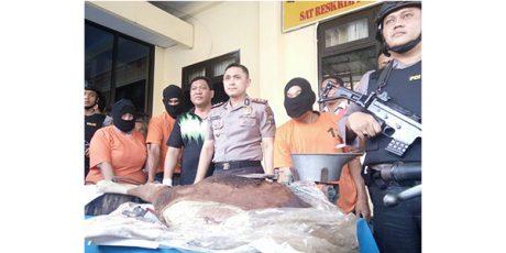 Dua Alap-Alap Maling Sapi Antar Kabupaten, Didor Polisi di Mojokerto