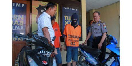Dua Alap-Alap Motor di Ngawi Dibekuk Polisi