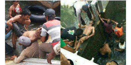 Dua Remaja Ditemukan Tewas Tenggelam di Waduk Mojomanis Lamongan