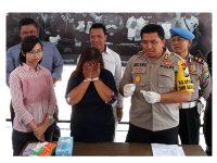 Edarkan Sabu, Perempuan asal Tulungagung Tertangkap di Trenggalek