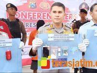 Edarkan Sabu di Bojonegoro, Warga asal Genteng Surabaya Ditangkap