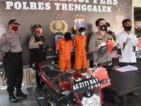 Edarkan Sabu di Trenggalek, 2 Pria asal Boyolangu Tulungagung Diciduk Polisi