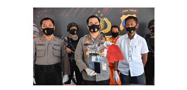 Edarkan Sabu di Trenggalek, Pria asal Mojo Kediri Ditangkap Polisi