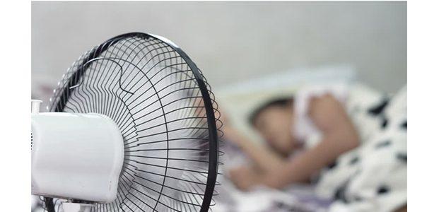 Efek Menggunakan Kipas Angin Saat Tidur